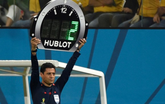 Luminous tablet for Brasil 2014 WORLD CHAMPIONSHIP