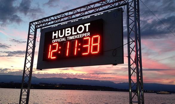 REGATTA TIMEKEEPER. GENEVA